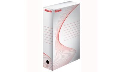 Pudło archiwizacyjne ESSELTE BOXY 100mm białe 128201/128102