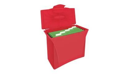 Walizeczka na teczki ESSELTE VIVIDA A4 czerwona 623964
