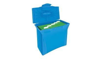 Walizeczka na teczki ESSELTE VIVIDA A4 niebieska 623983