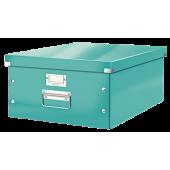 Pudło archiwizacyjne LEITZ Click&Store WOW do formatu A3 turkusowe 60450051