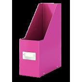 Pudło na czasopisma LEITZ Click&Store WOW A4 różowe 60470023