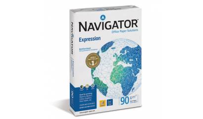 Papier xero A4 NAVIGATOR Expression 90g CIE169 klasa A