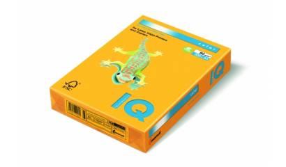Papier xero A4/80g IQ COLOR Neon pomarańcz.NEOOR