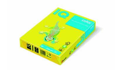 Papier xero A3/80g IQ COLOR Neon żółty NEOGB