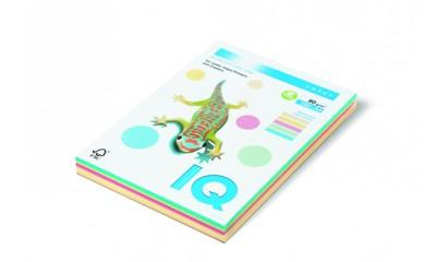 Papier xero A4/80g IQ COLOR Mix kolor pastel 4x25 (100ark)
