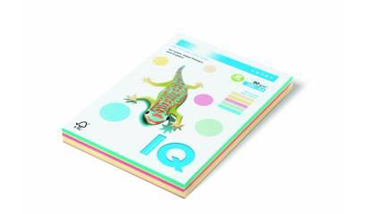 Papier xero A4/80g IQ COLOR Mix kolor pastel 5x50 (250ark)