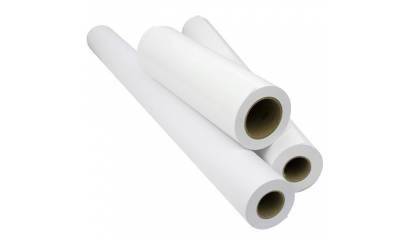 Papier do plotera 297mm x 50m 90g