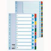Przekładki kartonowe ESSELTE A4 1-5 MYLAR 100160