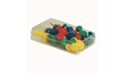 Pinezka tablicowa E&D Plastic (20szt) 28033