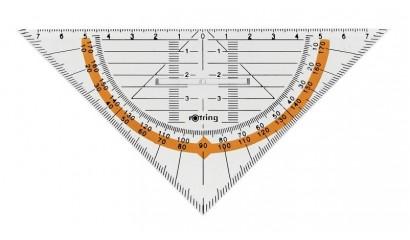 Ekierka geometryczna z uchwytem ROTRING Centro 23cm. S0903950