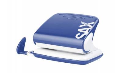 Dziurkacz SAX Design 318 niebieski 20k