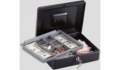 Kasetka na pieniądze SentrySafe CB-12 94x300x235mm czarna 3SK003