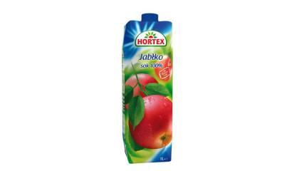 Sok Hortex Jabłkowy 1L (1szt)