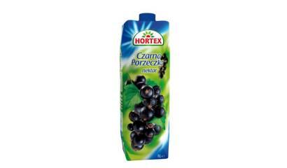 Sok Hortex Czarna porzeczka 1L (1szt)