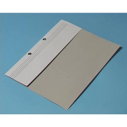 Skoroszyt kartonowy Kiel-Tech A4 oczkowy bia³y 1 / 2 (1szt)