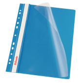 Skoroszyt miękki zaw. ESSELTE A4 niebieski (10szt) 13586