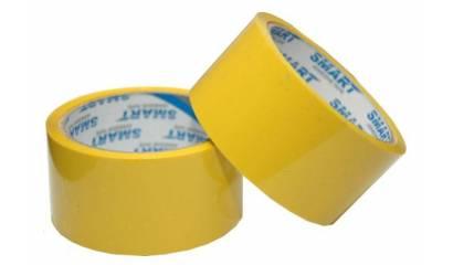 Taśma pakowa SMART 48mmx46m żółta