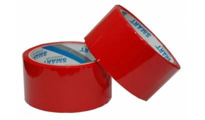 Taśma pakowa SMART 48mmx46m czerwona