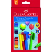 FLAMASTRY CONNECTOR 10 KOLORÓW FABER CASTELL