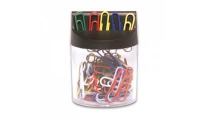 Spinacz magnetyczny E&D Plastic kolorowy 26mm (100) 61249