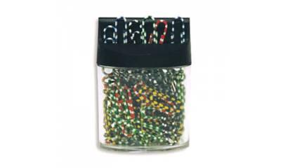 Spinacz magnetyczny E&D Plastic zebra 28mm (60) 60123