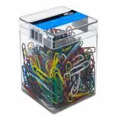 Spinacz E&D Plastic kolorowy 26mm (500) 6050