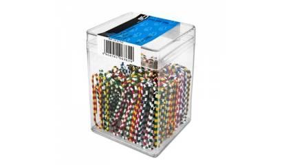 Spinacz E&D Plastic zebra 50mm (100) 6762