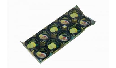 Sok cytrynowy ŁOWICZ w kubeczku 10x7,5ml