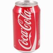Coca-Cola 0,33L puszka (24szt)