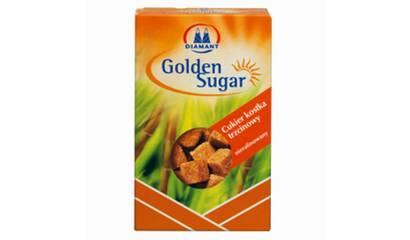 Cukier brązowy w kostkach 500g