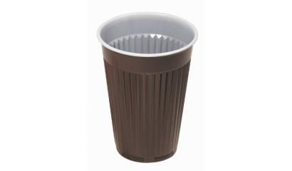 Kubek plastikowy GAST brązowy 180ml (100szt)