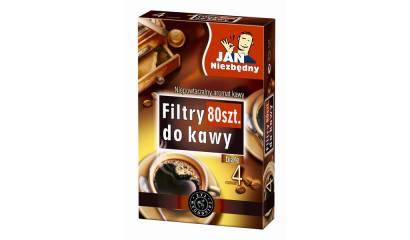 Filtr do kawy JN papierowy NR 4 100szt