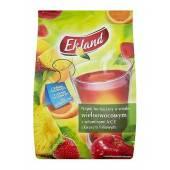 Herbata rozpuszczalna EKOLAND wieloowocowa 300g