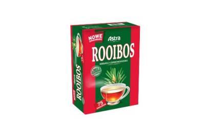Herbata ekspresowa ASTRA Rooibos z czerwonokrzewu 75torebek
