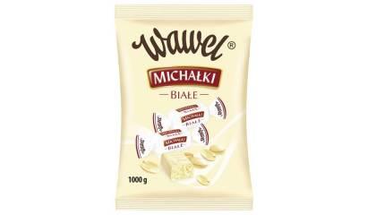 Cukierki Michałki Zamkowe WAWEL Białe 1kg