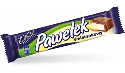 Baton WEDEL Pawełek śmietankowy 45g (24szt)