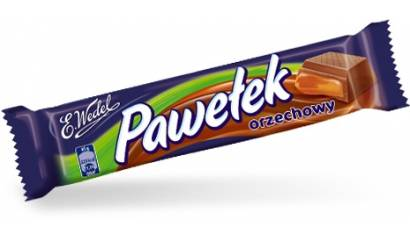 Baton WEDEL Pawełek Toffi 45g (24szt)