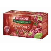 Herbata owocowa TEEKANNE Cranberry & Raspberry (20T)