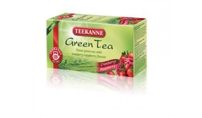 Herbata zielona TEEKANNE Green Tea z żurawiną i maliną (20T)