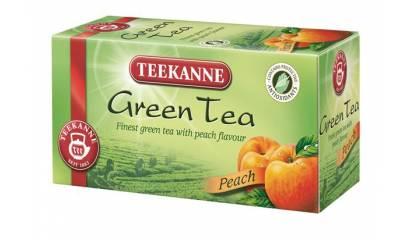 Herbata zielona TEEKANNE Green Tee peach (20T)