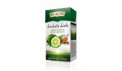 Herbata biała BIG-ACTIVE z tajska cytryną (20T)