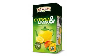 Herbata czarna BIG-ACTIVE Cytryna & Mango (20T)