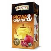Herbata czarna BIG-ACTIVE Pigwa & Granat (20T)