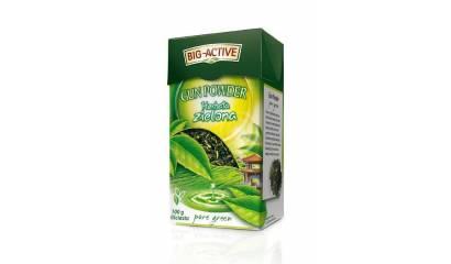 Herbata liściasta BIG-ACTIVE Gun Powder zielona (100g)
