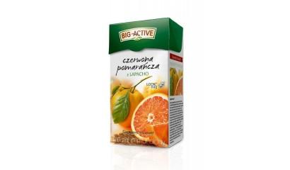 Herbata owocowa BIG-ACTIVE czerwona pomarańcza z lapacho (20T)