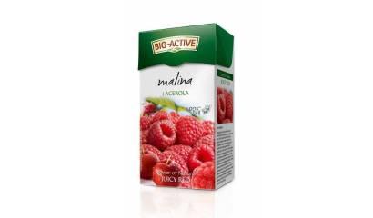 Herbata owocowa BIG-ACTIVE malina z acerolą (20T)