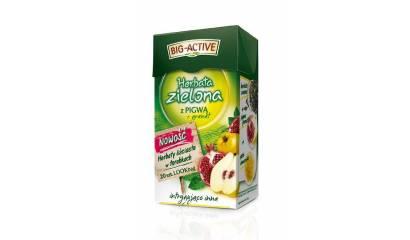 Herbata zielona BIG-ACTIVE granat i pigwa (20T)