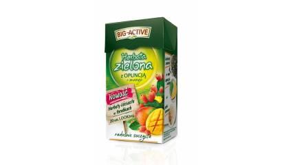 Herbata zielona BIG-ACTIVE opuncja i mango (20T)