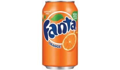 Napój gazowany FANTA Orange 330ml (24szt) puszka