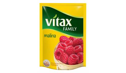 Herbata owocowa VITAX Family malina (24T)